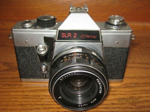Pentacon SLR 2 Camera made in East Germany for JC Penney Praktica ?
