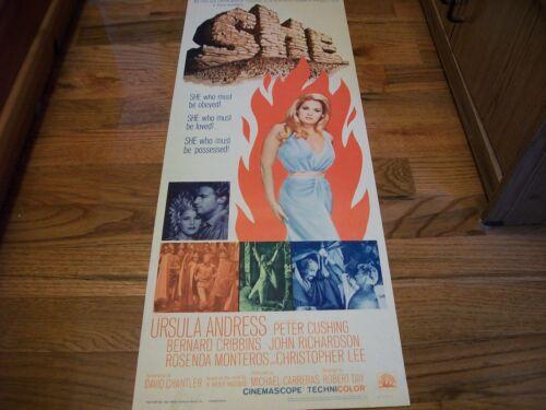 SHE  original poster  1965