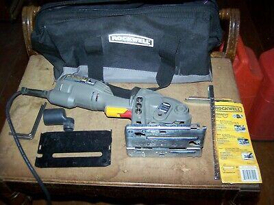 Rockwell RK3440K VersaCut Mini Circular Saw Kit with Laser  With (Rockwell Versacut Mini Circular Saw Kit With Laser)