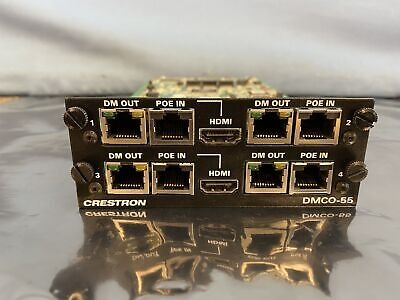 Crestron DMCO-55 HDMI Output Card for DM Switcher