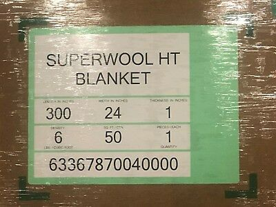 Superwool Non-ceramic Fiber Blanket 1 6 Dens. Superwool Ht