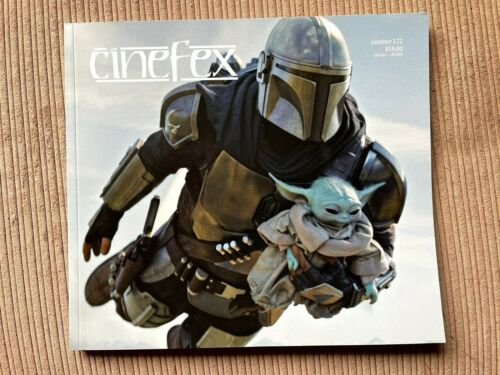 CINEFEX magazine issues Captain Marvel, Alita, Mandolorian - #163,#164,#172
