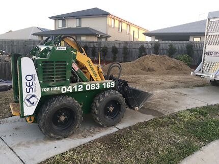 Kanga mini loader for dry hire