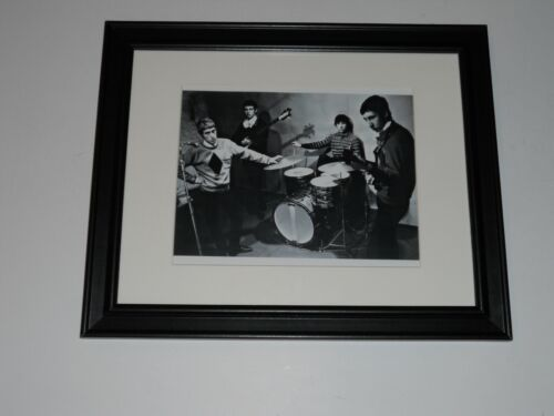 """Framed 1964 The Who Pete Townshend, Roger Daltrey, Keith Moon print 14"""" x 17"""""""