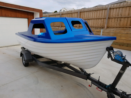 15ft boat & trailer