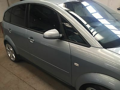 AUDI A2 16 FSI BAD 2003 breaking all parts available LY7R crystal blue