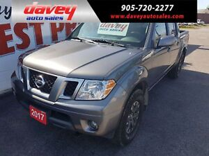 2017 Nissan Frontier PRO-4X 4X4, CREW CAB,SUNROOF