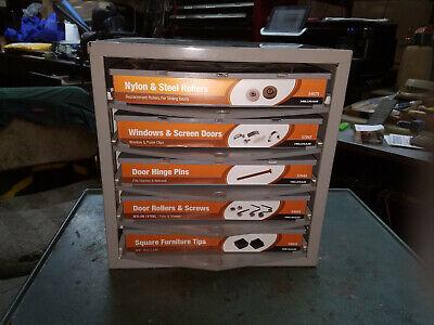 Hillman Hardware Parts Storage Cabinet 5 Drawer Steel Organizer With Drawers
