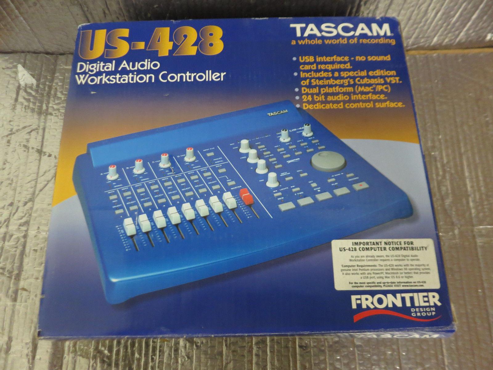 TASCAM Us-428 Digital Audio Workstation Controller for sale online