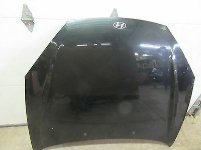 07 08 HYUNDAI TIBURON HOOD BLACK PEARL PAINTED COLOR CODE 9F OEM USED PART CAR