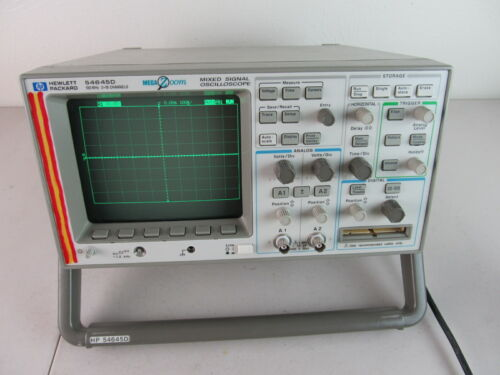 HP 54645D 100MHZ 2+16 CHANNEL MIXED SIGNAL OSCILLOSCOPE