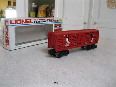 Lionel Atchison, Topeka & Santa Fe Horse Transport Car 6-9280 Lionel Car Transporter