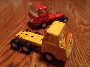 Trade! Two Tonka trucks. Open to all offers
