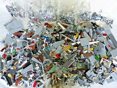 6 Pounds LEGO Mostly Star Wars Parts and pieces,  Including unopened poly bags