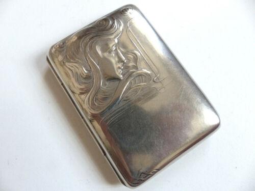 SUPERB ART NOUVEAU CIGARETTE CASE BOX 1920