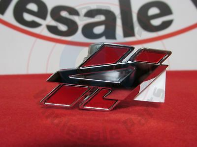DODGE CHALLENGER Red & Chrome All Wheel Drive Decklid Badge NEW OEM MOPAR Dodge All Wheel Drive