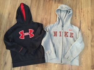 Nike & Under Armour hoodie size small