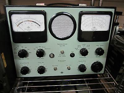 Bruel Kjaer 2006 Heterodyne Voltmeter Accelerometer Microphone