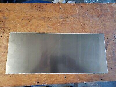 Aluminum Sheet Plate 5052 532 .160 Thick 18 78 X 7 58