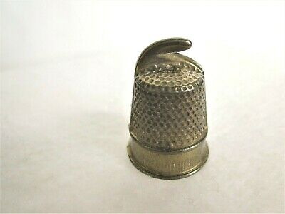 Vintage Thimble Brass lined.