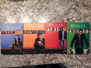 House M.D. Seasons 1, 2, 3 and 4 DVDs