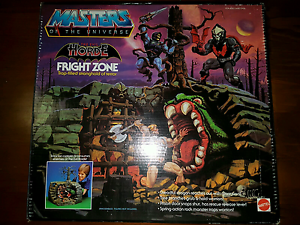 MOTU Masters of the Universe Boxed Fright Zone Boxed Huntingdale Gosnells Area Preview