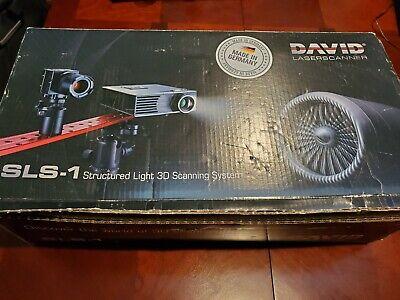 DAVID SLS 1 Structured Light 3D Scanner