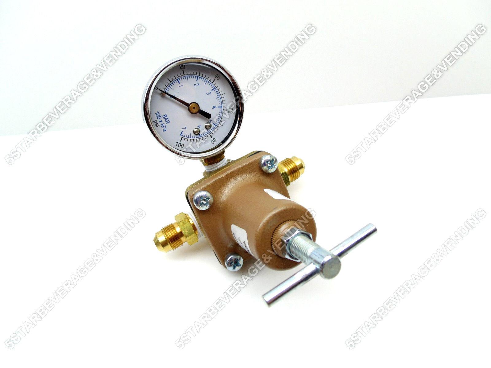 "WATTS LF263A 3/8"" 3-WAY WATER PRESSURE REGULATOR 10-125PSI N"