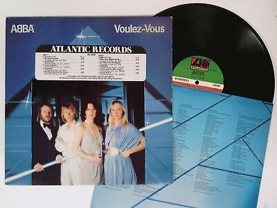 ABBA Voulez-Vous LP Atlantic Records PROMO SD-16000 vinyl disco gold stamp 1979