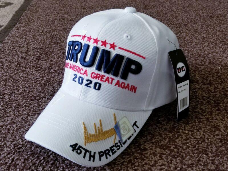 MAGA Make America Great Again Donald Trump 2020 White Hat
