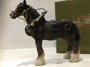 Shire Clydesdale Horse Gift Figurine Ornament Figure
