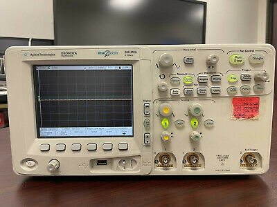 Keysight Agilent Dso6032a 300mhz 2gss 2ch Oscilloscope Parts Or Repair