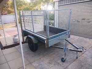 6x 4 papas trailer with cage. Rockingham Rockingham Area Preview