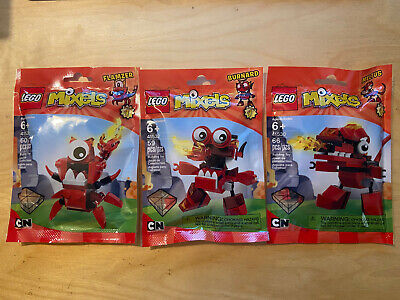 Lego Mixels Series 4 Meltus 41530, Burnard 41532,  Flamzer 41531 NEW