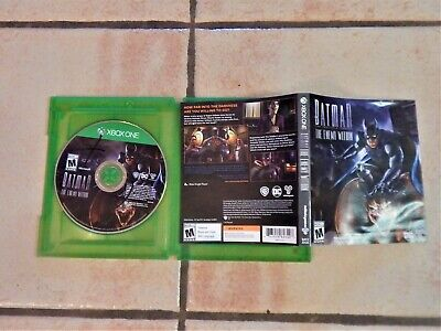 Batman: The Enemy Within The Telltale Series Season Pass Disc XBOX ONE FREE SHIP