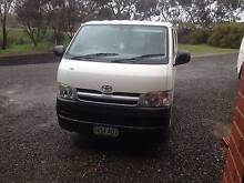 2006 Toyota Hiace LWB SELL OR SWAP FOR V8 LANDCRUISER OR DIESEL Gawler Belt Gawler Area Preview