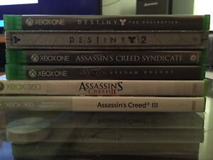 Xbox one and 360 games for cheap (Prices in description)