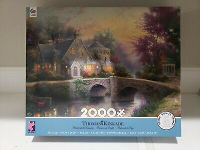 Thomas Kinkade Painter of Light 2000 Piece Puzzle by Ceaco
