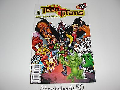 Teen Titans #1 Comic 3rd Print Variant DC 2003 Robin Cyborg Raven Johns McKone