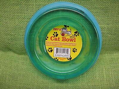 Pet Dog Cat Food Feeding Water Dish Bowl Plastic Non-Spill Ring
