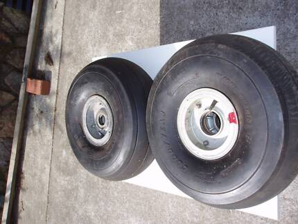 Nomad Aeroplane Wheels good for beach trailer Bellerive Clarence Area Preview