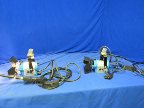 Arri L1.79360.A 150 Light Qty 2 w/ barndoors, male bates cord