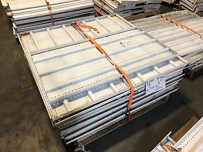 Gondola Store Shelving 48 X 24.5 White 21 Available Used