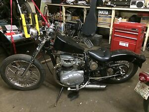 1969 BSA Hard tail BASKET!!