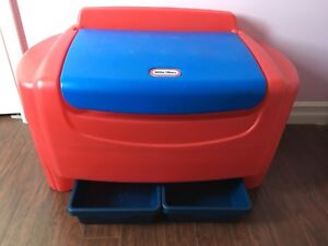 Little tikes toy chest toy box