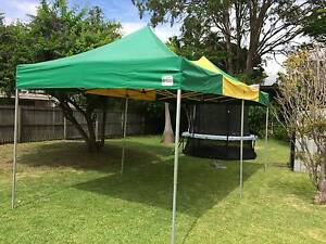 Green and Gold Marquee Gazebo 3m x 6m Mitchelton Brisbane North West Preview