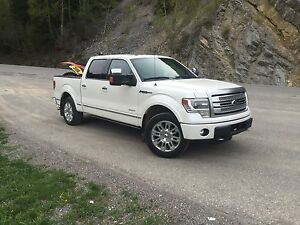 2013 Ford F-150 Platinum Fully loaded!!