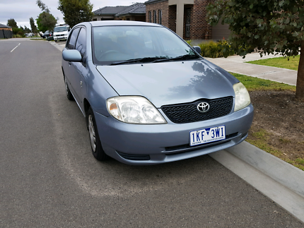 Toyota Corolla ascent low kms