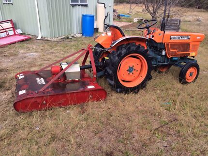 Kubota 25 HP Tractor For Sale Stanthorpe Southern Downs Preview