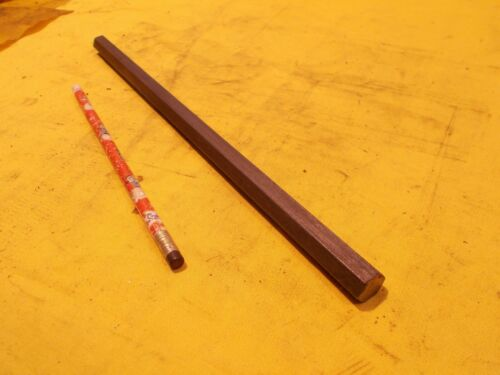 "12L14 STEEL HEX BAR machine shop tool die metal rod stock 1/2"" OD x 12"" OAL"